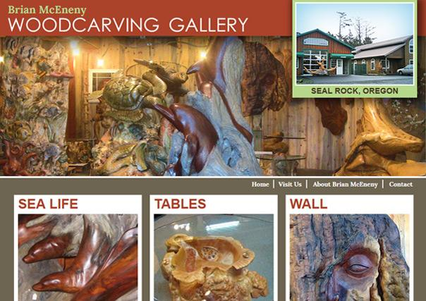 Brian McEneny's Woodcarving Gallery