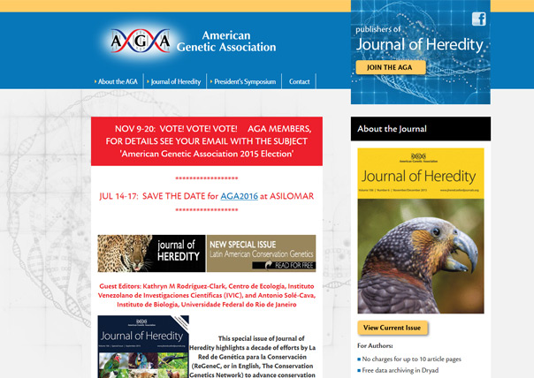 The American Genetic Association